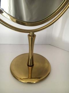 Charles Hollis Jones Charles Hollis Jones Brass Wishbone Vanity Mirror - 1738051