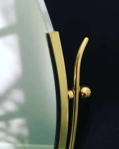 Charles Hollis Jones Charles Hollis Jones Brass Wishbone Vanity Mirror - 1738053
