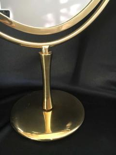 Charles Hollis Jones Charles Hollis Jones Brass Wishbone Vanity Mirror - 1738056