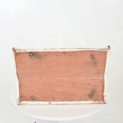 Charles Hollis Jones Charming Vintage Lucite Leather Modern Magazine Rack Caddy 1970s - 2034475