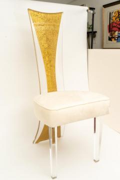 Charles Hollis Jones Lucite Dining Chairs Mid Century Modern Set of 6 - 1140338