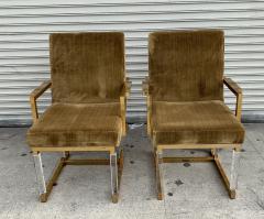Charles Hollis Jones Pair of Metric Armchairs by Charles Hollis Jones - 1833315