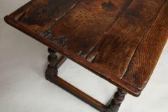 Charles I Period Oak Sofa Table - 655891