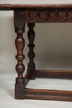 Charles I Period Oak Sofa Table - 655893