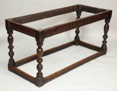 Charles I Period Oak Sofa Table - 655895