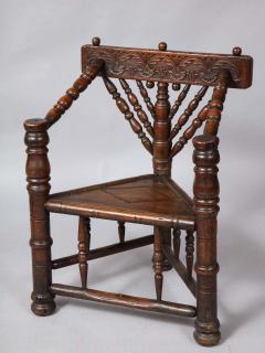Charles I Three Legged Turners Chair - 1322144
