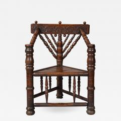 Charles I Three Legged Turners Chair - 1322579