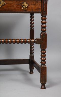 Charles II Period Oak Side Table - 685904