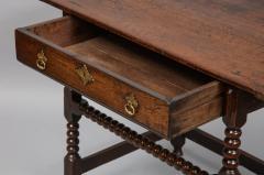 Charles II Period Oak Side Table - 685906