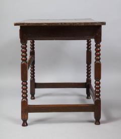 Charles II Period Oak Side Table - 685909