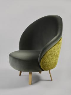 Charles Kalpakian Crescent Chair - 1166474