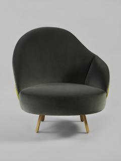 Charles Kalpakian Crescent Chair - 1166476