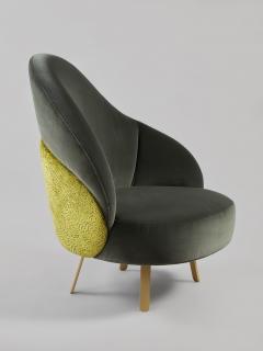 Charles Kalpakian Crescent Chair - 1166478