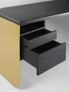 Charles Kalpakian critoire Desk Ebonized Oak  - 676205
