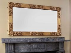 Charles N Robinson Carved Gilt Wood Pier or Over mantle Mirror - 1230179