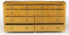 Charles Pfister Charles Pfister for Baker Primavera Parquetry Inlaid Ten Drawer Dresser - 665383