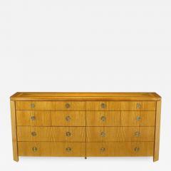 Charles Pfister Charles Pfister for Baker Primavera Parquetry Inlaid Ten Drawer Dresser - 665481