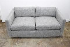 Charles Pfister Charles Pfister for Knoll Settee in Pollack Blue Weave Fabric - 1633485