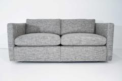 Charles Pfister Charles Pfister for Knoll Settee in Pollack Blue Weave Fabric - 1633490