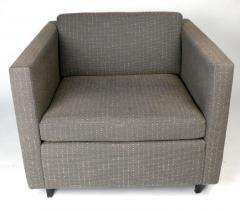 Charles Pfister Club Chairs by Charles Pfister for Knoll - 328261