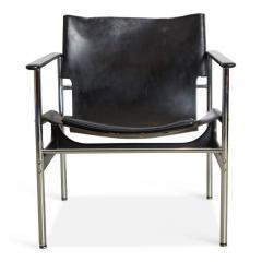 Charles Pollock Charles Pollock Model 657 Sling Lounge Chairs Pair Knoll  International   287975