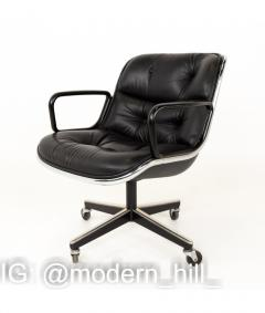 Charles Pollock Charles Pollock for Knoll Mid Century Wheeled Office Desk Chair - 1810335