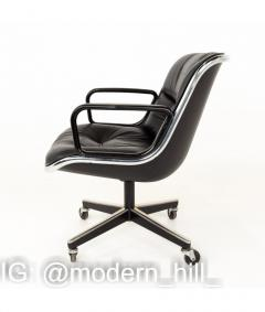 Charles Pollock Charles Pollock for Knoll Mid Century Wheeled Office Desk Chair - 1810338