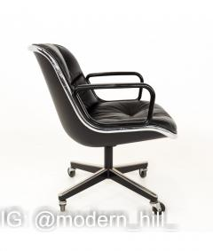 Charles Pollock Charles Pollock for Knoll Mid Century Wheeled Office Desk Chair - 1810339