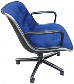 Charles Pollock Midcentury Charles Pollock Executive Chairs For Knoll    553889