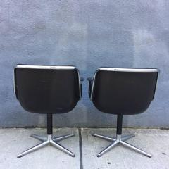 Charles Pollock Pair of Early Charles Pollock for Knoll Accent Chairs - 556316