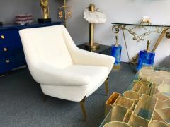 Charles Ramos Pair of Armchairs by Charles Ramos France 1950s - 880446