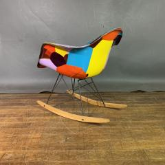 Charles Ray Eames 1950s Elephant Hide Eames RAR Rope Edge Rocking Chair updated by Jim Oliveira - 1340554