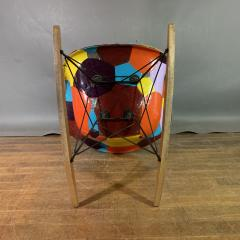 Charles Ray Eames 1950s Elephant Hide Eames RAR Rope Edge Rocking Chair updated by Jim Oliveira - 1340560
