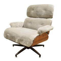 Charles Ray Eames Danish Eames Style Chair And Ottoman 1970s - 1462807