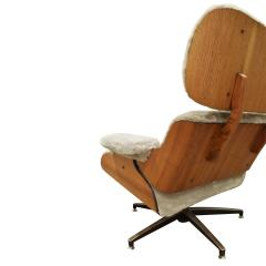 Charles Ray Eames Danish Eames Style Chair And Ottoman 1970s - 1462809