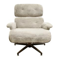 Charles Ray Eames Danish Eames Style Chair And Ottoman 1970s - 1462810