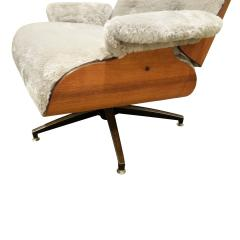 Charles Ray Eames Danish Eames Style Chair And Ottoman 1970s - 1462817