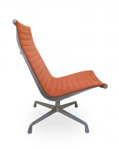 Charles Ray Eames Eames EA33 Aluminium Group Lounge Chair For Herman Miller    197508