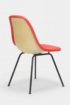 Charles Ray Eames Eames Side Chair Red Leather 60s - 1638650