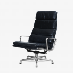 Charles Ray Eames Eames Soft Pad Lounge Chair in Leather by Charles Ray Eames for Herman Miller - 2098793