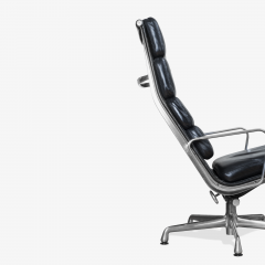 Charles Ray Eames Eames Soft Pad Lounge Chair in Leather by Charles Ray Eames for Herman Miller - 2098797