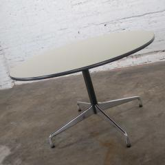 Charles Ray Eames Eames herman miller universal base round table off white laminate top - 1843800