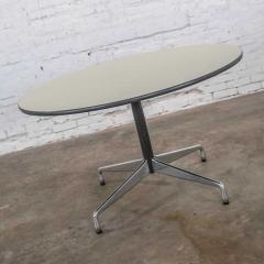 Charles Ray Eames Eames herman miller universal base round table off white laminate top - 1843812