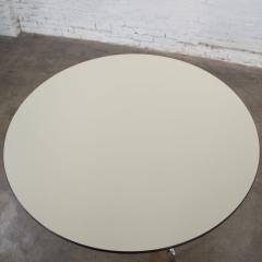 Charles Ray Eames Eames herman miller universal base round table off white laminate top - 1843817