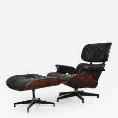 Charles Eames Lounge Stoel.Charles And Ray Eames Early Rosewood Charles Eames Lounge Chair For Herman Miller