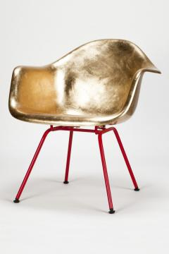 Charles Ray Eames Leaf gilded Eames Armchair - 1638702