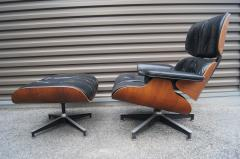 Charles Ray Eames Lounge Chair Ottoman Model 670 671 by Charles Ray Eames for Herman Miller - 699272