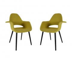 Charles Ray Eames Mid Century Modern Armchairs or Dining Chairs by Eames and Saarinen for Vitra - 1968926
