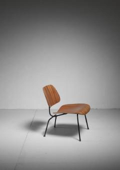 Charles Ray Eames Rare zebrano edition of the Eames LCM chair for Herman Miller USA - 759944