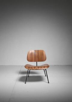 Charles Ray Eames Rare zebrano edition of the Eames LCM chair for Herman Miller USA - 759945